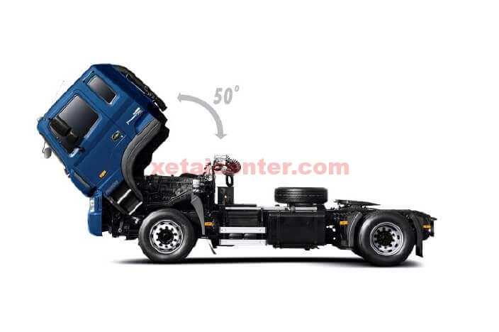 cabin xe tải hyundai hd320