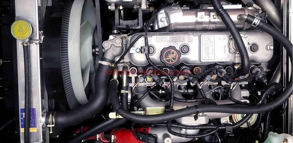 động cơ xe tải hyundai iz65