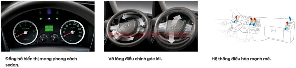 đồng hồ hiển thị xe tải hyundai new mighty h150