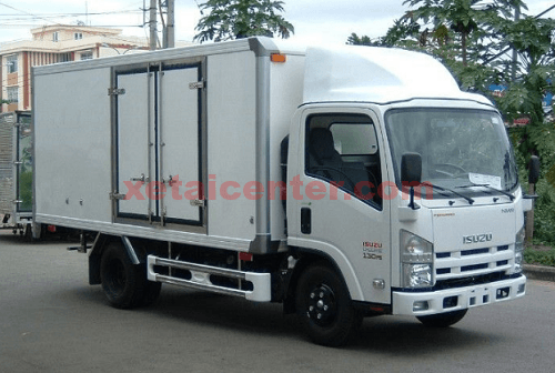 xe tải isuzu 1.9 tấn thùng kín