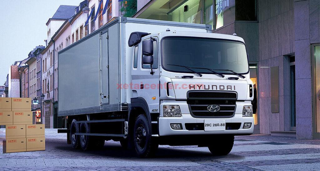 xe tải hyundai hd320 19 tấn thùng kín