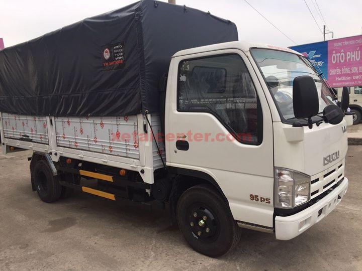 ngoại thất xe tải isuzu 2.4 tấn