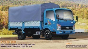 Xe tải veam vt250 2.5 tấn
