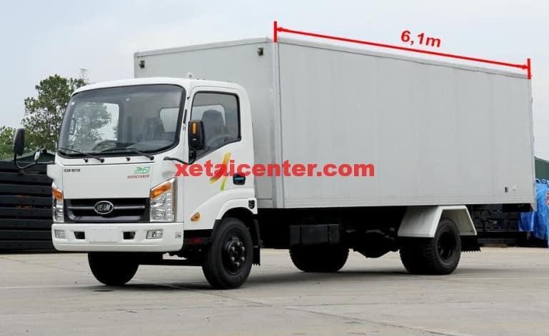 xe tải veam vt260 thùng dài 6m2