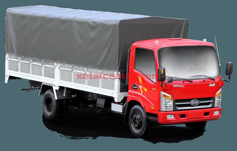 xe tải veam vt260 thùng mui bạt