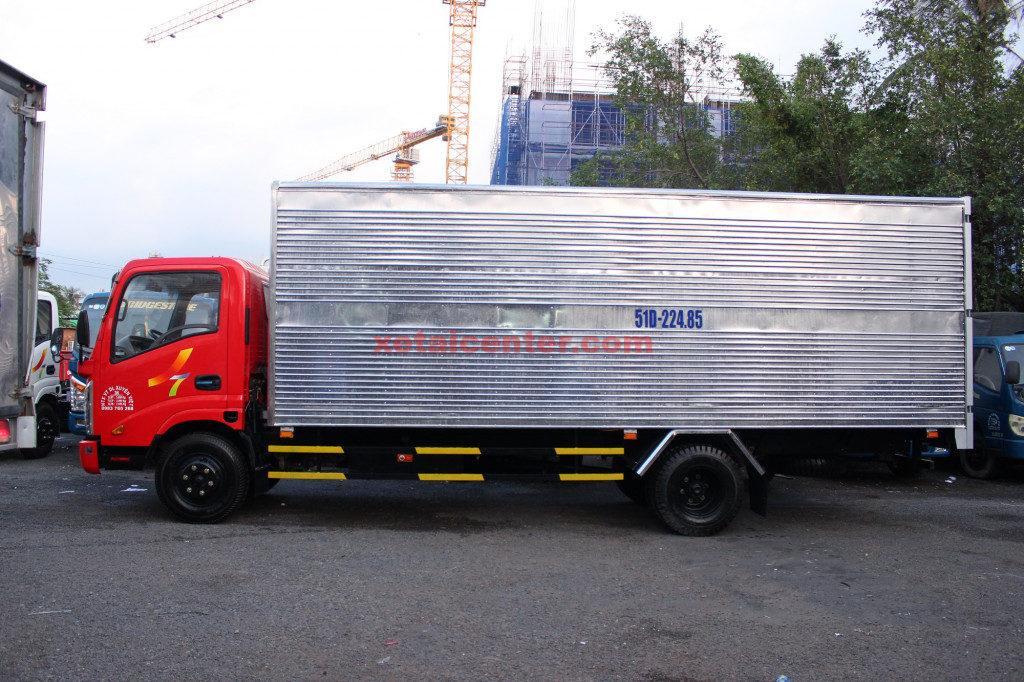 xe tải veam vt260 thùng kín