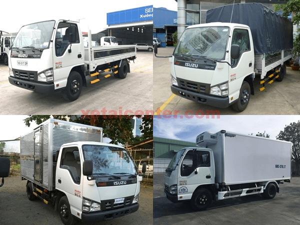 Các phiên bản đóng thùng xe tải isuzu 2t2