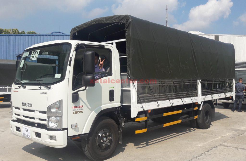 xe tải 3.5 tấn thùng mui bạt