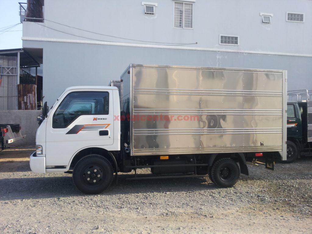 Xe tải kia 1t25 thùng kín