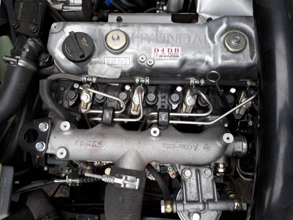 động cơ xe tải hyundai hd120sl