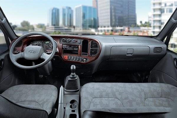 nội thất xe tải hyundai hd800