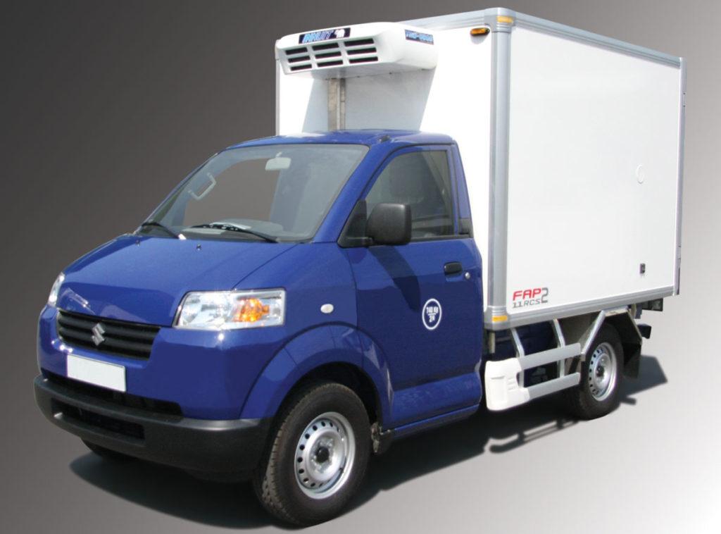 xe tải suzuki 750kg thùng đông lạnh