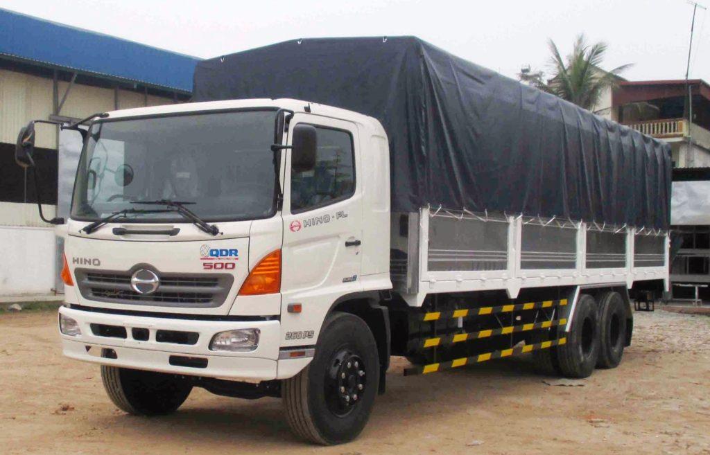 Xe tải Hino 4 chân