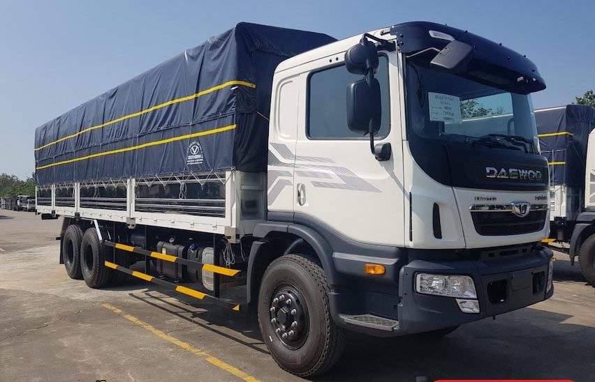 xe tải daewoo 15 tấn