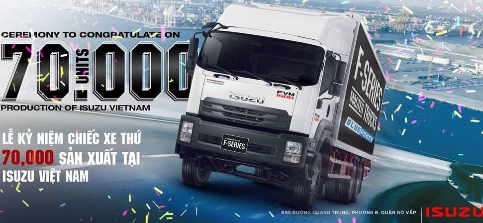 banner xe tải isuzu
