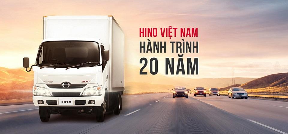 banner xe tải hino