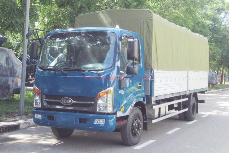 đóng thùng xe tải mui bạt