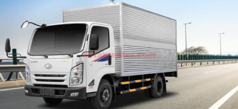 Đóng thùng xe tải thùng kín
