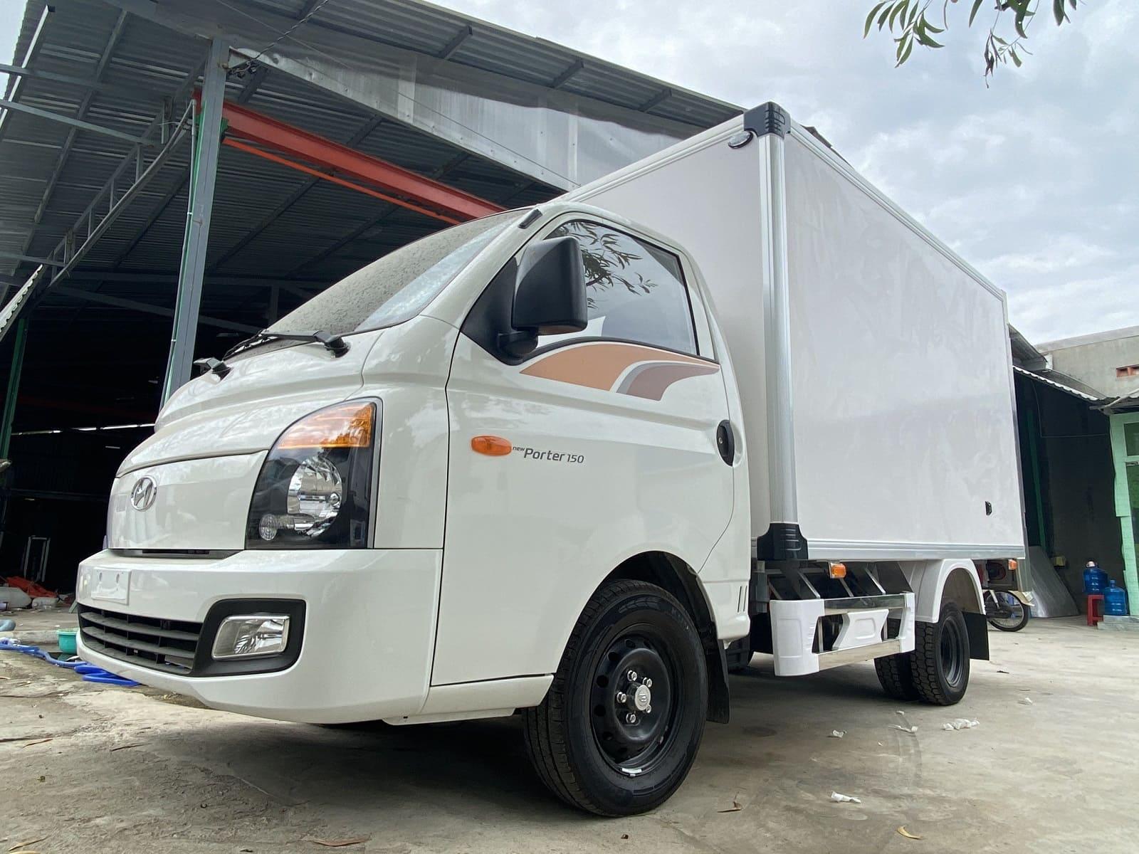 Màu sắc của xe tải Hyundai thùng đông lạnh
