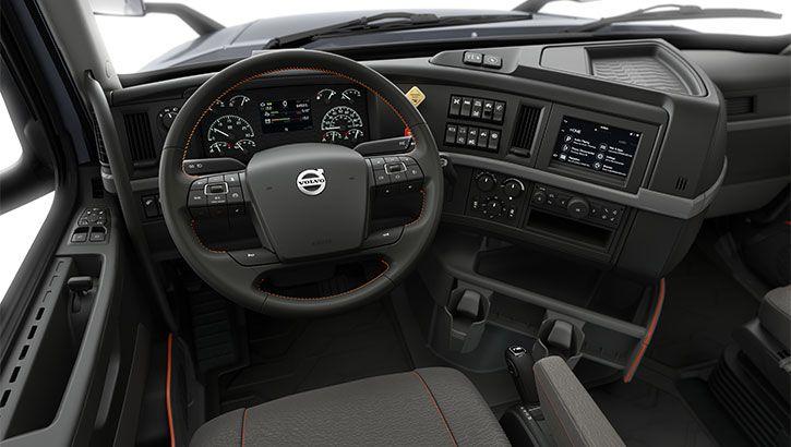 ngoại thất xe đầu kéo Volvo
