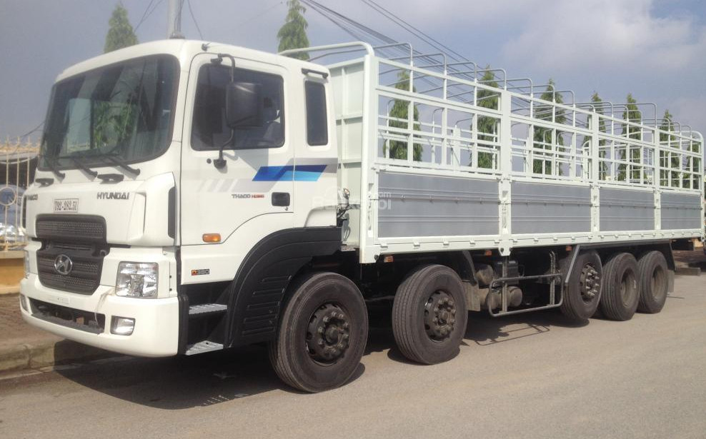 xe tải Hyundai 5 chân