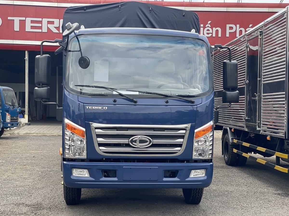 ngoại thất xe tải Teraco 190SL và xe tải Teraco 345SL