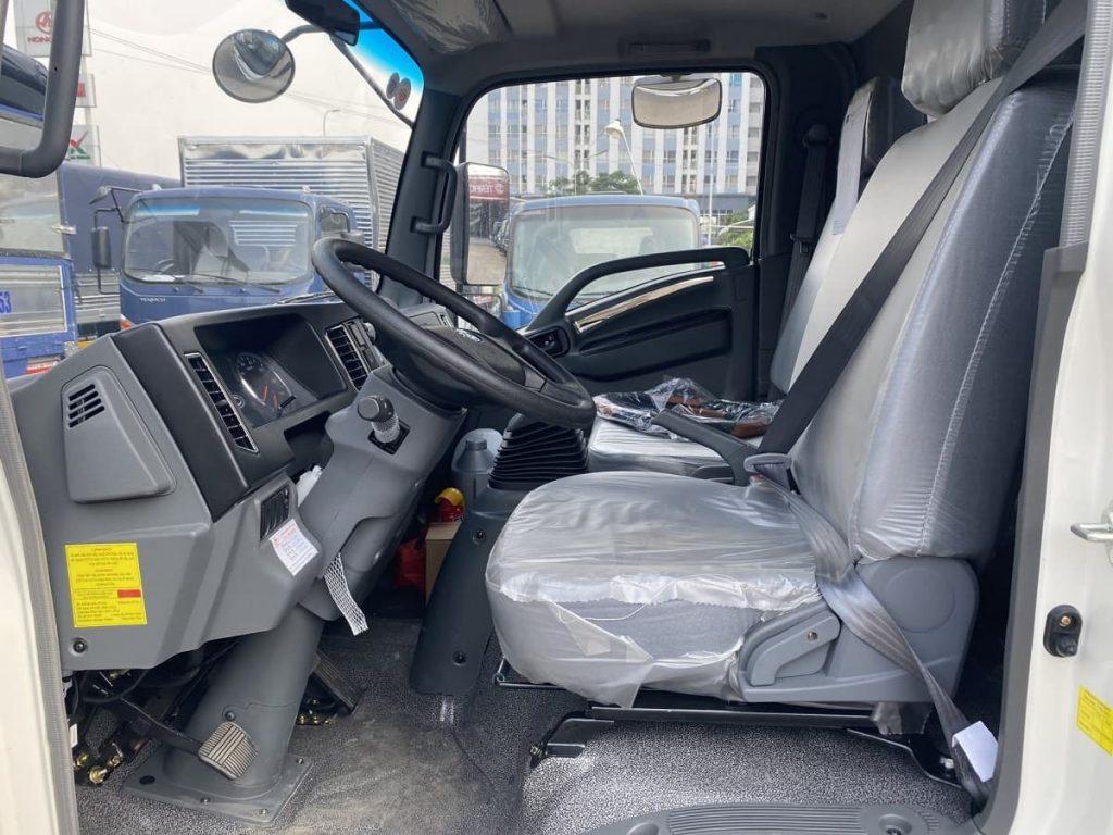 nội thất xe tải Teraco 190SL và xe tải Teraco 345SL