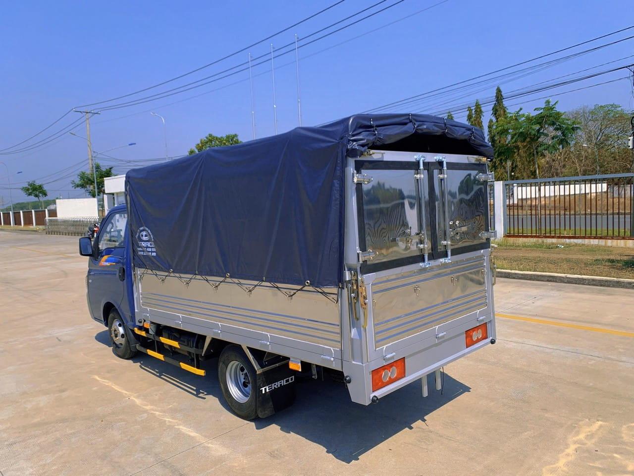 Thùng xe của xe tải Tera 150 1T5