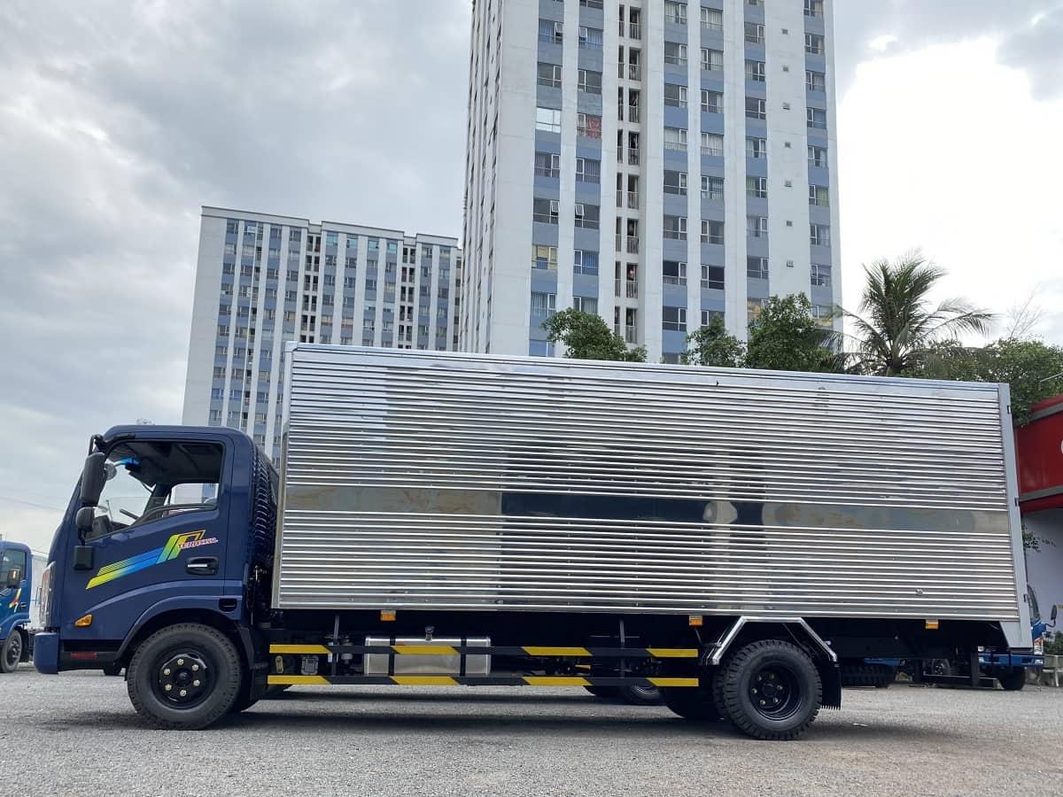 Thùng xe tải Teraco 190SL và xe tải Teraco 345SL