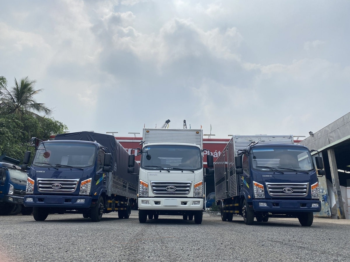 các loại xe tải Teraco