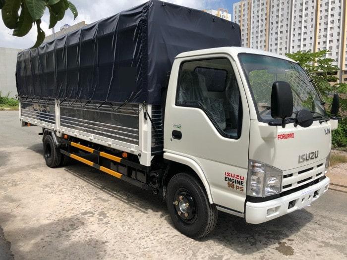 xe tải thùng dài 6m2 Isuzu NK490SL 1T9
